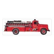 3D Title Sticker-Fire Truck