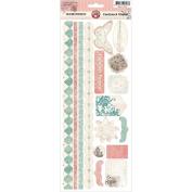 Reminisce Cardstock Stickers 13cm x 30cm