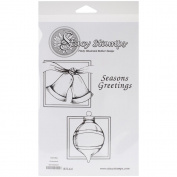 Stacy Stamps Cling Mounted Stamps 6.4cm x 6.4cm -Ornaments
