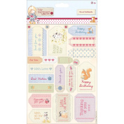Tilly Daydream Cardstock Die-Cuts 2/Sheets-Sentiments