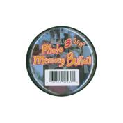 Memory Button 8.9cm -Clear Plastic