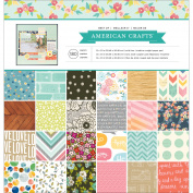 Best Of Paper Pad 30cm x 30cm 180/Pkg-American Crafts