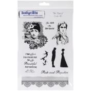 IndigoBlu Cling Mounted Stamp 23cm x 16cm -Mr. Darcy