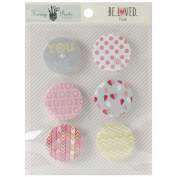 Beloved Flair Embellishments 6/Pkg