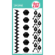 Avery Elle Clear Stamp Set 10cm x 15cm -Ikat