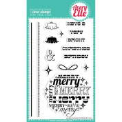 Avery Elle Clear Stamp Set 10cm x 15cm -Merry & Bright