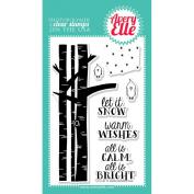 Avery Elle Clear Stamp Set 10cm x 15cm -Let It Snow