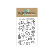 Paper Smooches 10cm x 15cm Clear Stamps-Surf & Turf