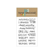 Paper Smooches 10cm x 15cm Clear Stamps-Good Gab