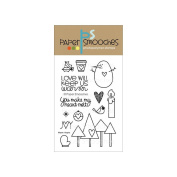 Paper Smooches 10cm x 15cm Clear Stamps-Warm Hearts