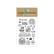 Paper Smooches 10cm x 15cm Clear Stamps-Bitty Bungalows