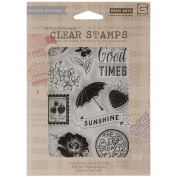 Basic Grey Fresh Cut Clear Stamps By Hero Arts-Sunshine