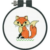 Learn-A-Craft Fox Counted Cross Stitch Kit