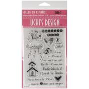 Uchi's Design Spanish Clear Stamp Set 10cm x 15cm Sheet-Boda