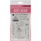 Uchi's Design Spanish Clear Stamp Set 10cm x 15cm Sheet-Cumpleanos