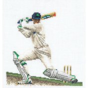 Cricket On Linen Counted Cross Stitch Kit-15cm - 0.6cm x 17cm 36 Count
