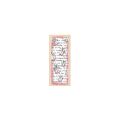 Penny Black Mounted Rubber Stamp 5.7cm x 15cm -Birthday Pattern