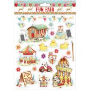 Helz Fun Fair Glitter Stickers A4-Hook-A-Duck