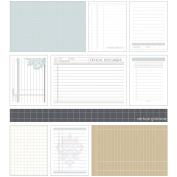 Essence East Coast Cards 7.6cm x 10cm & 15cm x 10cm 54/Pkg-Foundation Grids & Ledgers