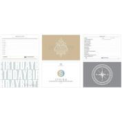 Essence East Coast Cards 15cm x 10cm 54/Pkg-Titles, Time-Lines, Etc.