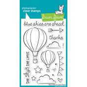 Lawn Fawn Clear Stamps 10cm x 15cm -Blue Skies