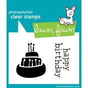 Lawn Fawn Clear Stamps 7.6cm x 5.1cm -Year 1