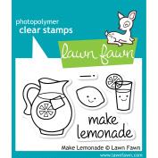 Lawn Fawn Clear Stamps 7.6cm x 5.1cm -Make Lemonade