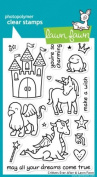 Lawn Fawn Clear Stamps 10cm x 15cm -Critters Ever After