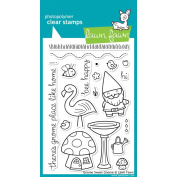 Lawn Fawn Clear Stamps 10cm x 15cm -Gnome Sweet Gnome
