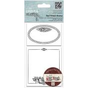 Papermania Madame Payraud Tall Urban Stamps-Oval Frame