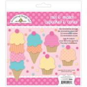 Sugar Shoppe Paper Craft Kit-Cupcake & Cones