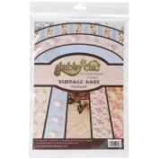 Debbi Moore Shabby Chic A4 Paper Pack-Vintage Rose