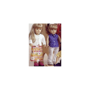 Doll Clothes - Fits 18 (45cm) Dolls Pattern