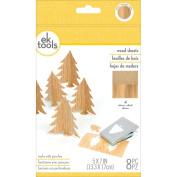 Wood Sheets 8/Pkg-13cm x 18cm
