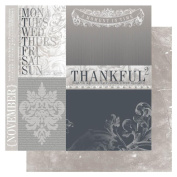 Year In Review Double-Sided Cardstock 30cm x 30cm -November