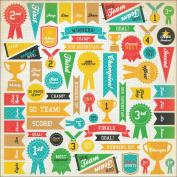 Class Act Spot Varnish Paper 30cm x 30cm -Awards