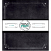 Misc Me Binder Life Journal 20cm x 23cm -Black