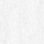 American Crafts Textured Cardstock 30cm x 30cm -White Woodgrain
