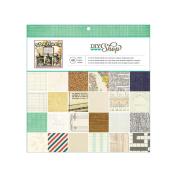 American Crafts Paper Pad 30cm x 30cm 48/Pkg-DIY Shop
