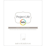 Project Life Photo Pocket Pages 15cm x 20cm 12/Pkg-