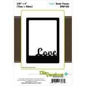 Die-Versions Sweet Frames Die-Love, 7.4cm x 10cm