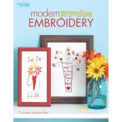 Leisure Arts-Modern Primitive Embroidery