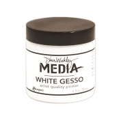 Ranger Dina Wakley Media Gesso, 120ml, White