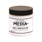 Dina Wakley Media Gel Medium 120ml Jar -Matte Finish