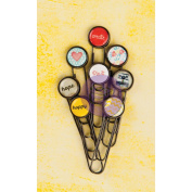 Bloom Typewriter Key Paper Clips 5.1cm 8/Pkg-