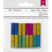 DIY Shop Mini Stapler Refill Staples 1,600/Pkg-Basic Colours