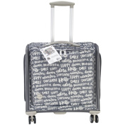 We R Memory Keepers 360 Crafters Rolling Bag, 18 by 50cm by 30cm , Charcoal Multi-Coloured