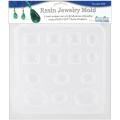 Resin Jewellery Reusable Plastic Mould 15cm - 1.3cm x 18cm -Jewels 14 Assorted Shapes