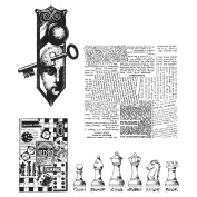 Stampers Anonymous Rubber Stamp Set 18cm x 22cm -Classics #20