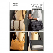 Vogue Patterns V8990OSZ Bags Sewing Template, One Size Only